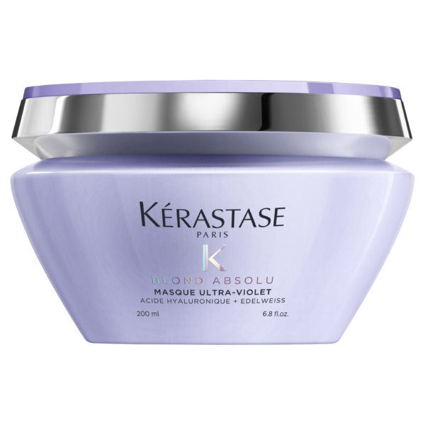 Kérastase Blond Absolu Masque Ultra Violet 200ml 1 600x600 - Kérastase Blond Absolu Masque Ultra Violet 200mL