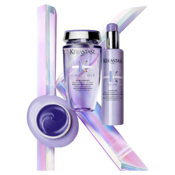 Kérastase Blond Absolu Masque Ultra Violet 200ml 8 600x600 - Kérastase Blond Absolu Masque Ultra Violet 200mL