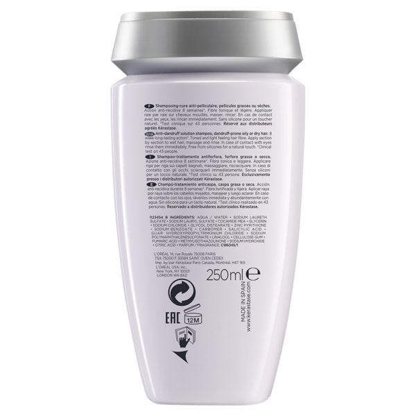 Kérastase Spécifique Bain Anti Pelliculaire 250ml 2 600x600 - Kérastase Spécifique Bain Anti-Pelliculaire 250mL