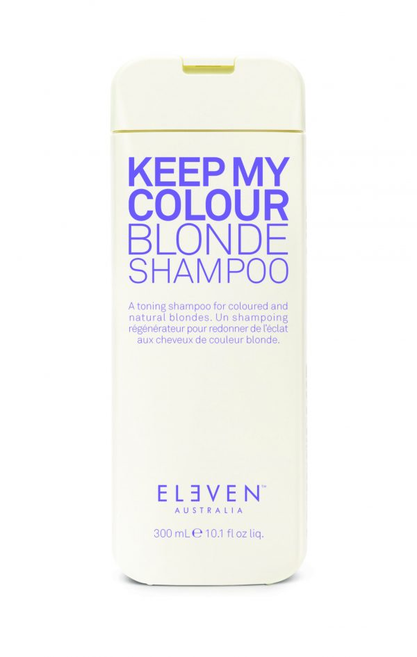 keep my colour blonde shampoo 300ml DS scaled 600x945 - ELEVEN AUSTRALIA KEEP MY COLOUR BLONDE SHAMPOO 300ML