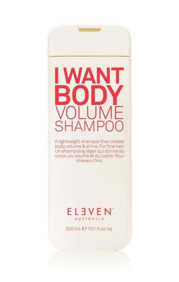 i want body volume shampoo 300ml PS 600x945 - ELEVEN AUSTRALIA I WANT BODY VOLUME SHAMPOO 300ML